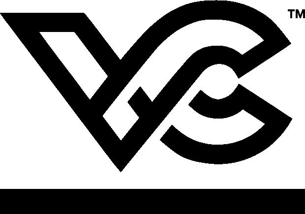 Large black logo for Viscap Media