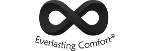 Official infinity sign logo of Everlasting Comfort.