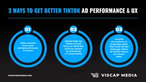 3 Ways To Get Better TikTok Ad Performance Infographic