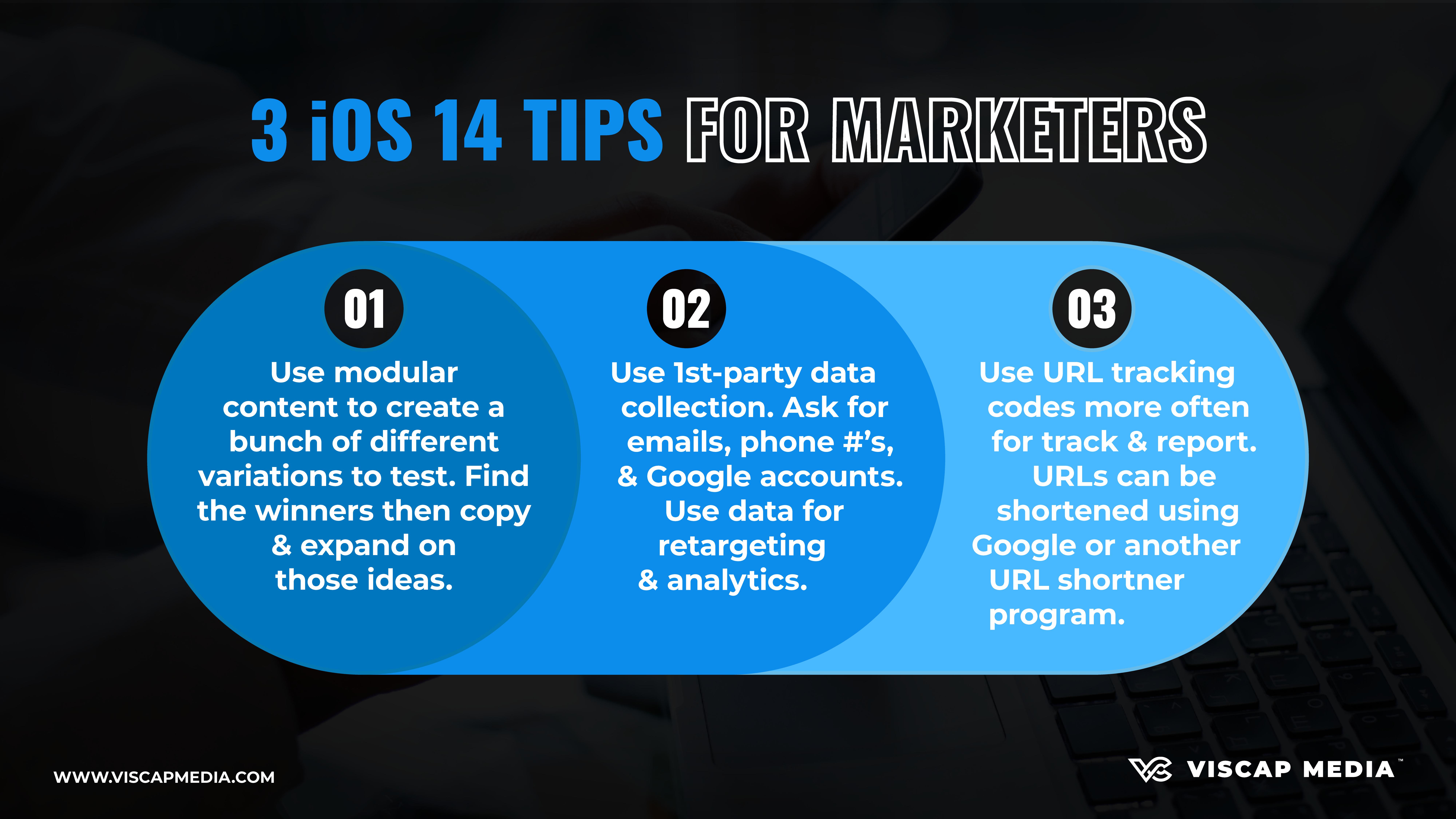 Big 3 iOS 14 Tips for Marketing